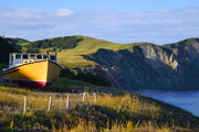 Magdalen islands cliffs, Quebec (Canada)